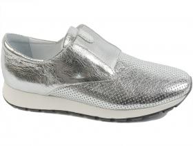Дамски обувки сиви 7579 - obuvki