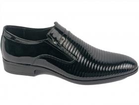 обувки-Мъжки обувки черни 7589