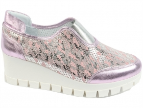 Дамски обувки розови 7626 - obuvki