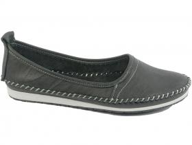 obuvki-Дамски обувки черни 7649
