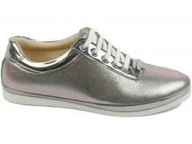 obuvki-Дамски обувки сиви 7650