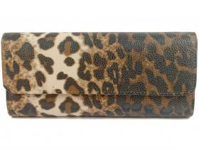 Дамска чанта леопард 7700 - obuvki