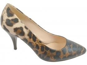 Дамски обувки леопард 7702