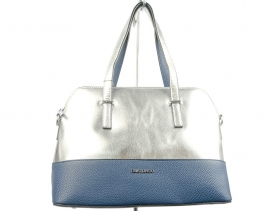 обувки-Дамска чанта синя 7976