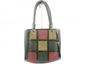obuvki-Дамска чанта черна 8020