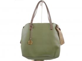 Дамска чанта зелена 8182 - obuvki