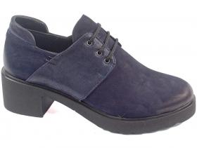 obuvki-Дамски обувки сини 8281