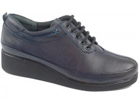 obuvki-Дамски обувки сини 8398