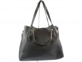 obuvki-Дамска чанта черна 8426