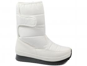 Дамски боти бели 8470 - obuvki