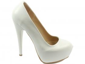 obuvki-Дамски обувки бели 8589