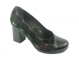 obuvki-Дамски обувки черни 8594