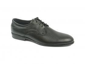 obuvki-Мъжки обувки черни 8580