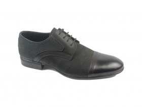 obuvki-Мъжки обувки черни 8597