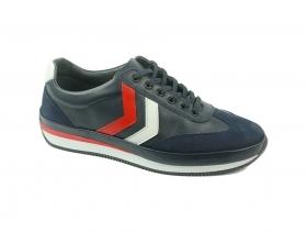 obuvki-Мъжки обувки сини 8574