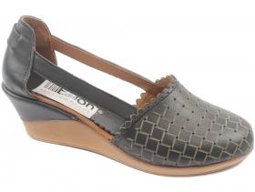 Дамски обувки черни 8759