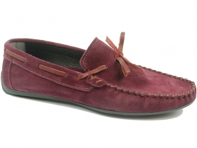 Мъжки обувки бордо 8772