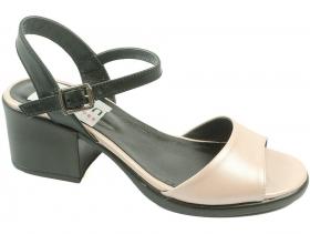Дамски сандали бежови 8803