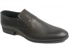 обувки-Мъжки обувки черни 8998