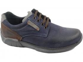 Мъжки обувки сини 9038