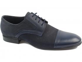 obuvki-Мъжки обувки сини 8572