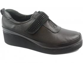 obuvki-Дамски обувки черни 9119