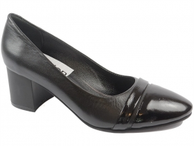 obuvki-Дамски обувки черни 9120