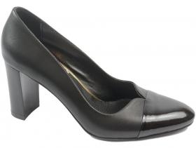 obuvki-Дамски обувки черни 8567