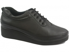 obuvki-Дамски обувки черни 9150