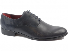 обувки-Мъжки обувки сини 9162