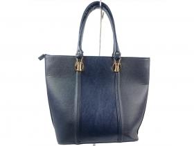 Дамска чанта синя 9188