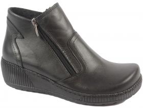 Дамски боти черни 9241 - obuvki
