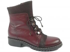 Дамски боти бордо 9242 - obuvki