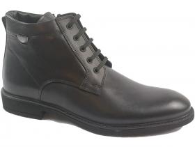 obuvki-Мъжки боти черни 9286