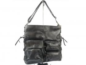 obuvki-Дамска чанта черна 9324