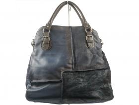 Дамска чанта синя 9327