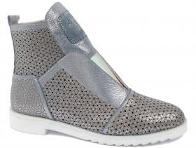 обувки-Дамски летни боти сини 9415