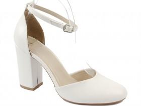 Дамски обувки бели 9426
