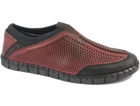 obuvki-Мъжки обувки бордо 9431