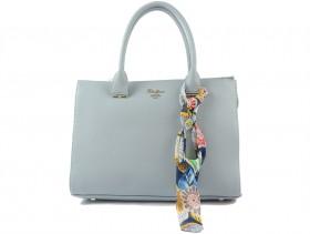 obuvki-Дамска чанта синя 9570