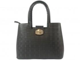 obuvki-Дамска чанта черна 9616
