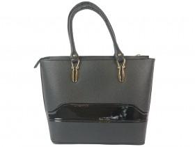 obuvki-Дамска чанта черна 9621