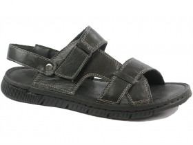 Мъжки сандали черни 9589