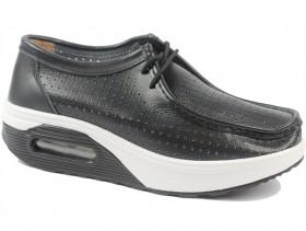 Дамски обувки черни 9694 - obuvki