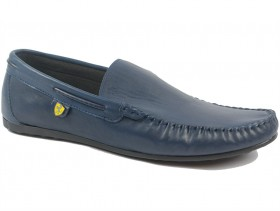 obuvki-Мъжки обувки сини 9682