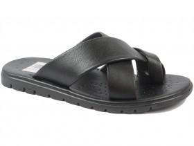 Мъжки чехли черни 9697 - obuvki