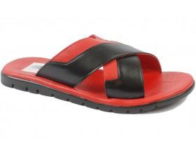Мъжки чехли червени 9698