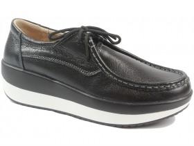 обувки-Дамски обувки черни 9814