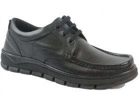 Мъжки обувки черни 9818