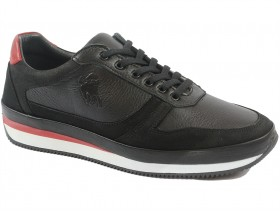 obuvki-Мъжки обувки черни 9826